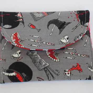Oddities - Oddities wallet - Witch wallet - skulls - Wallets