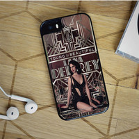 lana del rey great gatsby design iPhone 5(S) iPhone 5C iPhone 6 Samsung Galaxy S5 Samsung Galaxy S6 Samsung Galaxy S6 Edge Case, iPod 4 5 case