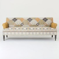 Andreas Sofa by Anthropologie in Grey Size: One Size Furniture