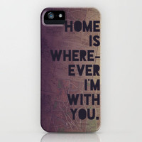 With You iPhone Case by Leah Flores | Society6