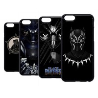 Black Panther Superhero T'Challa Hard Case Cover For iPhone iPod 6 7 8 X Plus