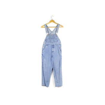 90s GAP denim overalls / vintage 1990s / carpenter / youth medium