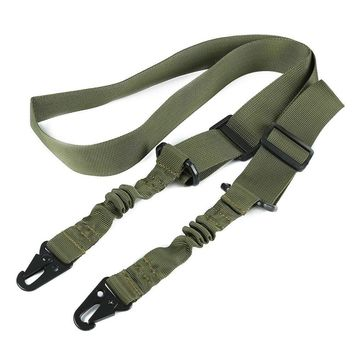 1 Pcs Nylon Single Two Point Tactical Hunting Multifunctional Adjustable Bungee Rifle Gun Airsoft Sling Hunting gun Strap