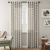Ink+Ivy Nakita Ikat Window Panel -- two sizes and 4 color options | Overstock.com Shopping - The Best Deals on Curtains