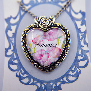Feminist, Feminism necklace