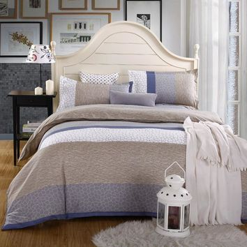 Cool Duvet Cover Set 1pc Duvet Cover 1pc Bed Sheet Set 2pc Pillowcase Full Queen King Size Bedding Set  housse de couette edredonAT_93_12