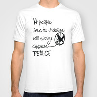 Choose Peace T-shirt by Cindys
