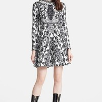 Women's Valentino Floral Jacquard Knit Dress,