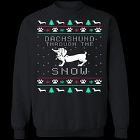 Dachshund Ugly Christmas Sweater