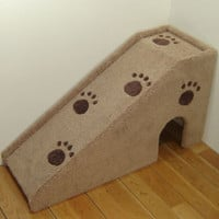 "24"" tall x 14"" wide x 42"" deep Dog ramp, pet stairs. For small dogs, medium dogs or cats."