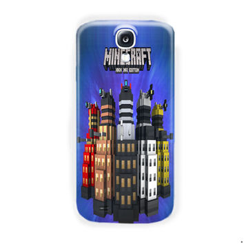 Minecraft  Doctor Who Skin Pack Xbox 360 For Samsung Galaxy S4 Case