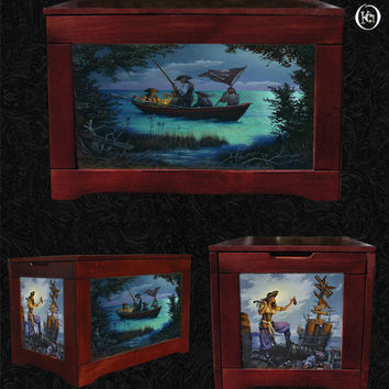 Toy Box-Hidden Cove-Don Maitz-Pirate Chest