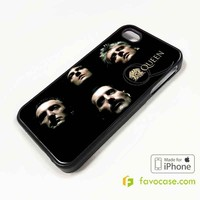 QUEEN Rock Band iPhone 4/4S 5/5S/SE 5C 6/6S 7 8 Plus X Case Cover