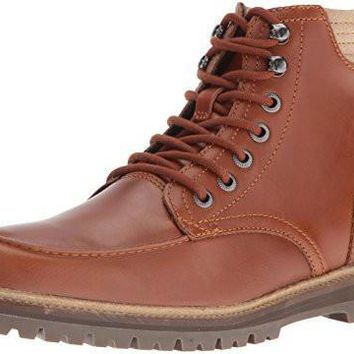 Lacoste Men's Montbard 416 1 Cam Fashion Sneaker Boot, Tan, 10.5 M US