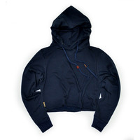 Women's Maddie Hooded Popover (Navy)