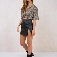 Motel Black Wren Skirt