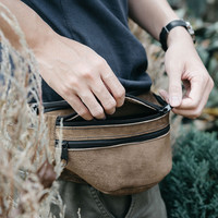 Leather Fanny Pack | The Travel Pack