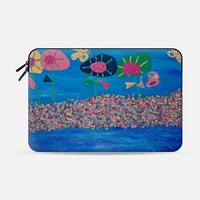PLUTO'S GARDEN Macbook 12 sleeve by Helen Joynson | Casetify