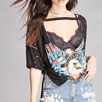 California Graphic Cutout Tee