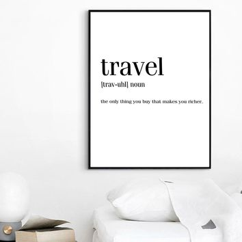 Colorful World Map Travel Wall Art Canvas Painting Nordic Posters And Prints Scandinavian Wall Pictures For Living Room Decor