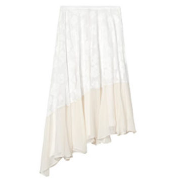 Rebecca Taylor Fil Coupe Angeled Skirt