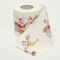 Tissue Toilet Roll Paper Decor Party Christmas Deer Colorful Cute Creative Room