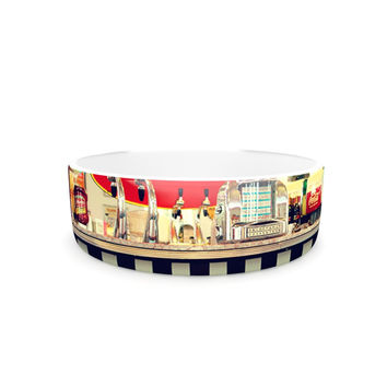 "Sylvia Cook ""Retro Diner"" Coca Cola Pet Bowl"