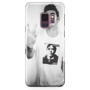 Morrissey Finger Flip The Smiths Punk Samsung Galaxy S9 Case | Casefantasy