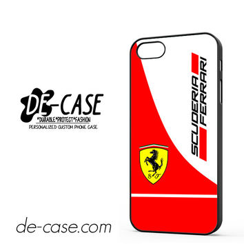 Scuderia Ferrari Logo For Iphone 5 Iphone 5S Case Phone Case Gift Present