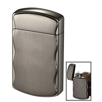 Visol Fireball Brushed Gunmetal Coil Flame Lighter