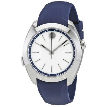 Movado Bold Motion White Dial Blue Silicone Smartwatch 3660011