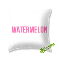 Watermelon Beyonce Square Pillow Cover