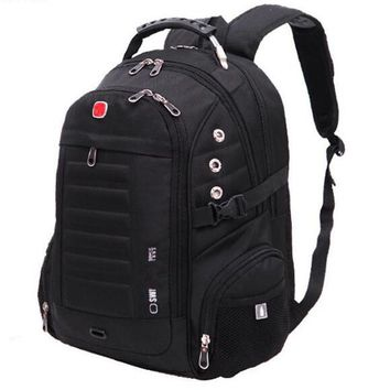Men Backpacks Brand Travel School Bag Teengers Laptop Military Back packS Swiss Gear Wenger Backpack Mochilas Zipper