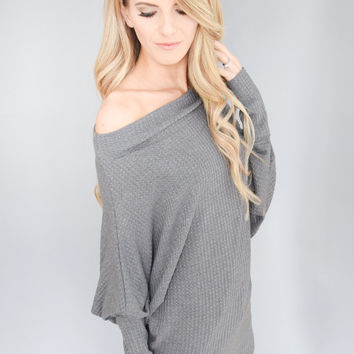 West End Thermal Charcoal Top