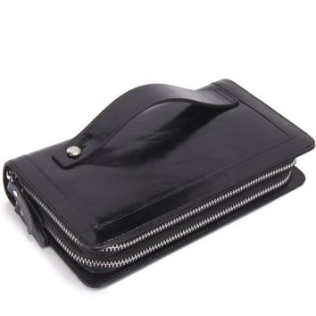 Men Leather Bags Casual Wallet [9026453187]