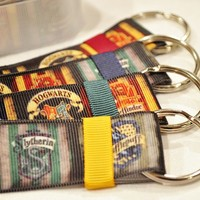 Harry Potter House colors lanyard