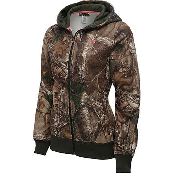 UNDER ARMOUR Women's Camo Full-Zip Hoodie