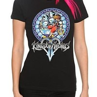 Disney Kingdom Hearts Sora Girls T-Shirt - 346001