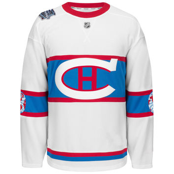 Montreal Canadiens 2016 NHL Winter Classic EDGE Authentic NHL Hockey Jersey (With  French Patch)