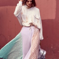 Free People Color Me Maxi Skirt