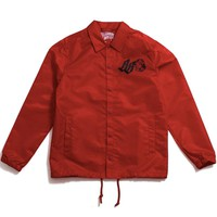 Delic Coach's Jacket Jester Red
