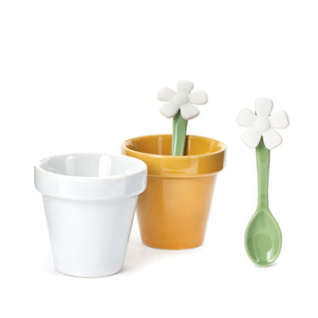 Kikkerland Design Inc » Products » Espresso Flower Cup