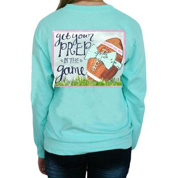 "*Closeout* Southern Girl Prep  ""Football"" Long Sleeve T-shirt"