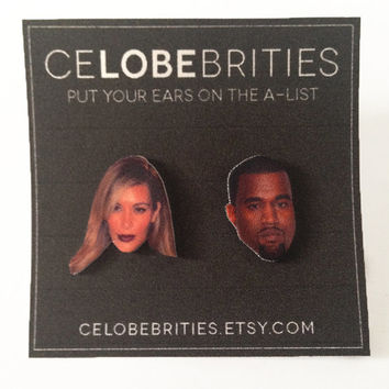 Kimye Earrings