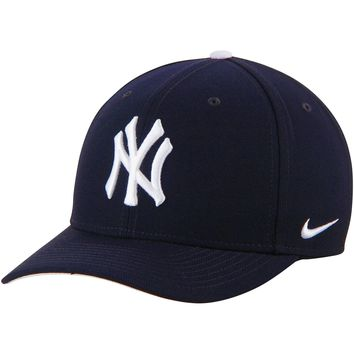 New York Yankees Nike Red Wool Classic Adjustable Dri-FIT Hat NIKE
