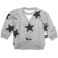 Star Pullover Heather Grey