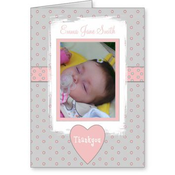 Birth Announcement Thankyou Cards