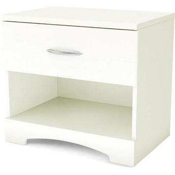 South Shore SoHo 1-Drawer Nightstand, Multiple Finishes - Walmart.com
