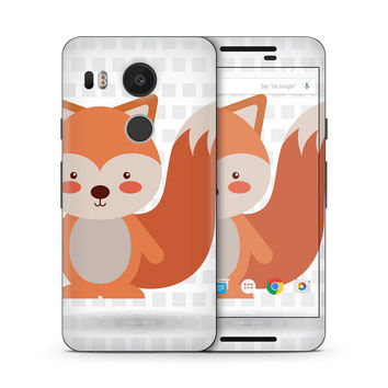 What does the Red Tailed Fox Say Skin for the Google Nexus