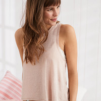 Aerie Camp Tank , Light Pink